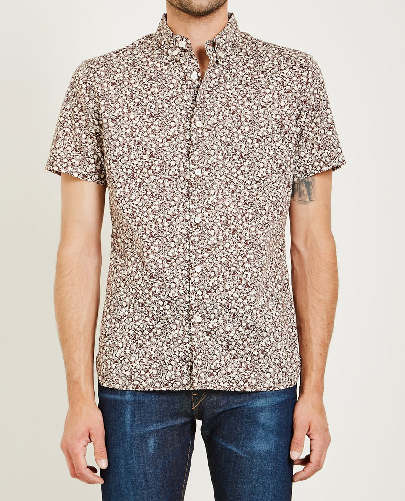KATO-SLIM FLORAL PRINT SHIRT-Men Shirts-{option1]