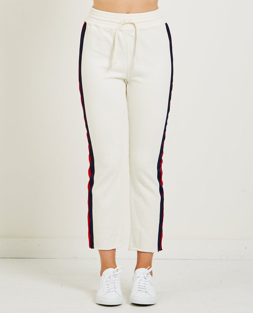 MOTHER SLIM GYM FRAY PANT