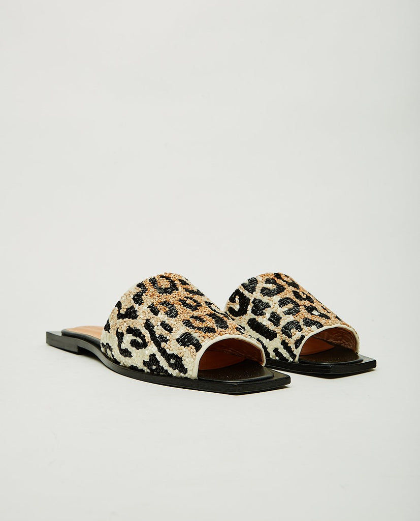 GANNI-Slipper-Women Flats-{option1]