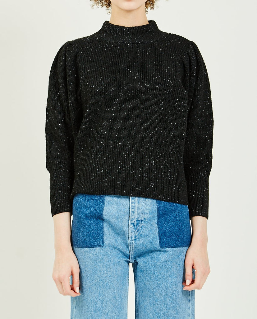 SOPHIA HIGH NECK KNIT-JUST FEMALE-American Rag Cie