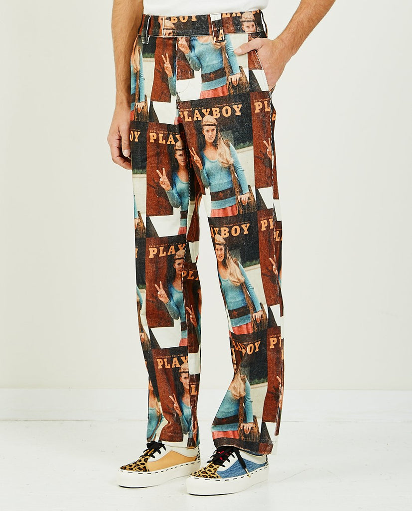 SOULLAND MEETS PLAYBOY FAWNA PANT-SOULLAND-American Rag Cie