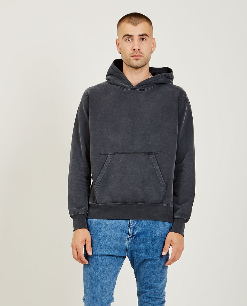 Special Finish Fleece Hoodie Black-REMI RELIEF-American Rag Cie