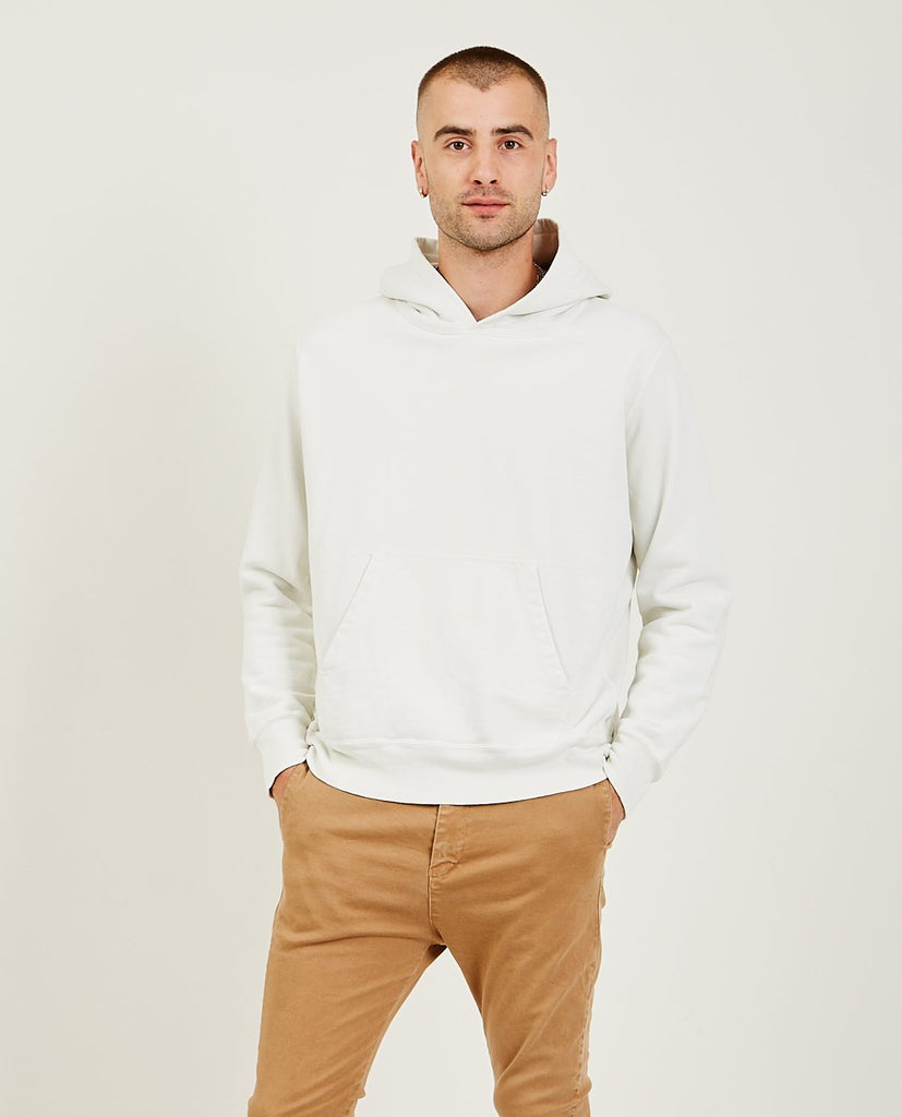 REMI RELIEF-Special Finish Hoodie Off White-Men Sweaters + Sweatshirts-{option1]