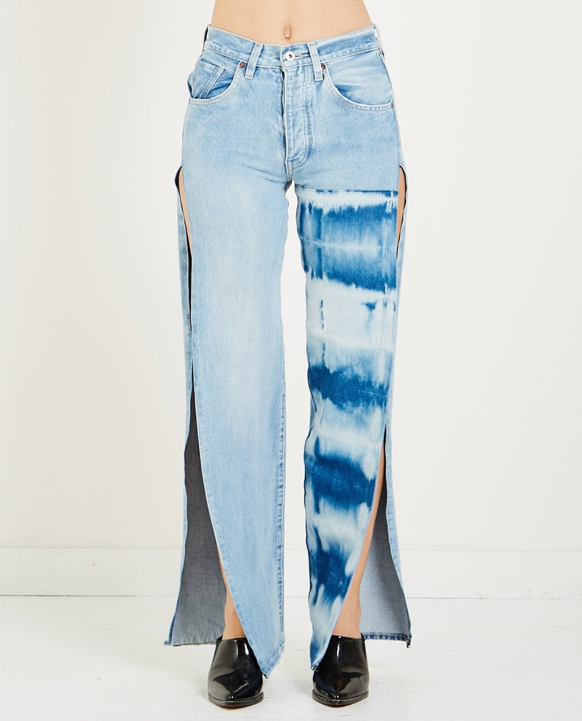 SPLIT ARROW JEAN OCEAN SHIBORI-LEVI'S: MADE & CRAFTED-American Rag Cie