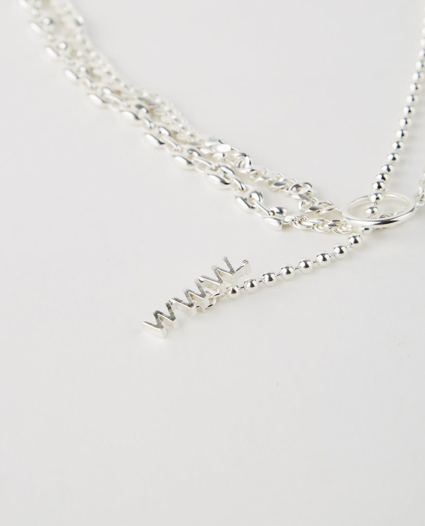 SPLIT CHAIN NECKLACE MEDIUM-WWW. WILL SHOTT-American Rag Cie
