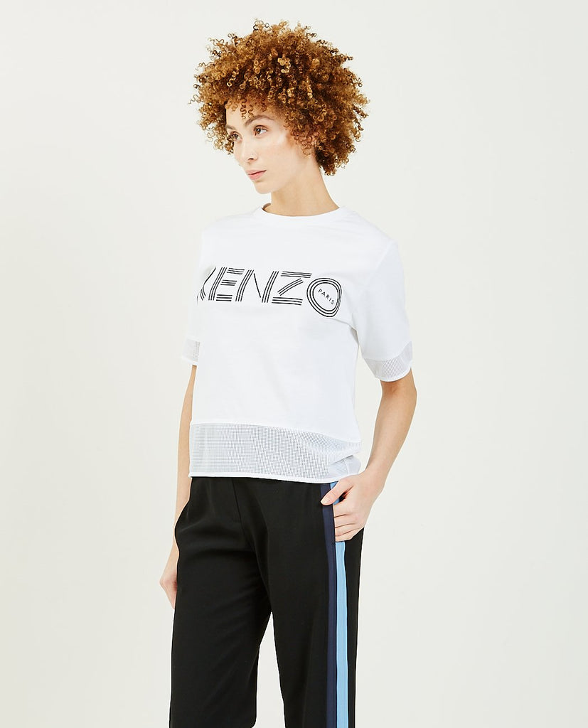 KENZO-Sport Cropped Logo Tee-Women Tees + Tanks-{option1]
