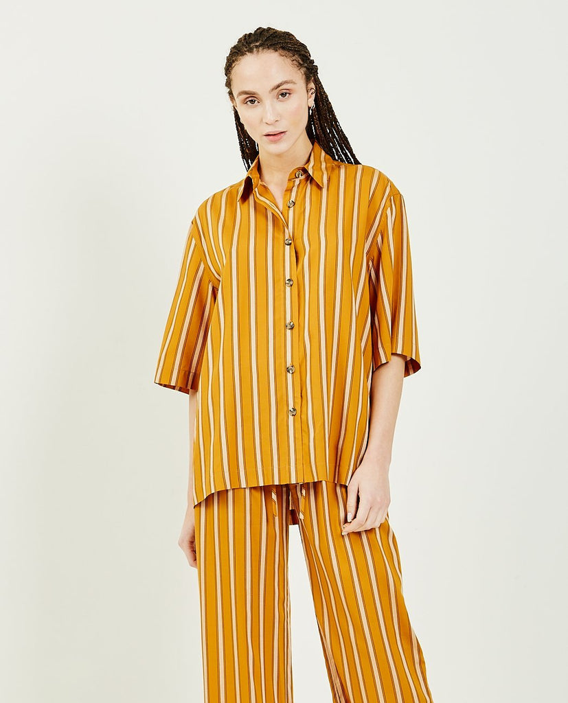 SS Straight Big Shirt-GREI-American Rag Cie