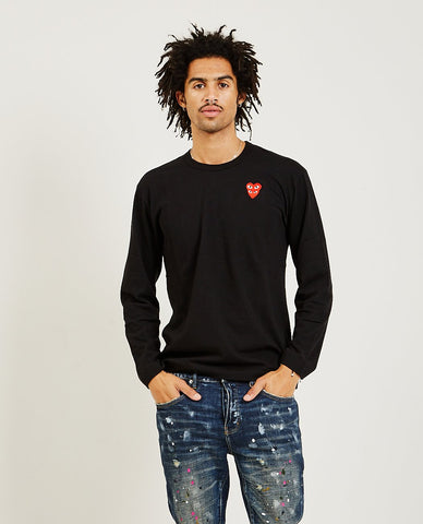 REMI RELIEF Special Finish Fleece Crew Black