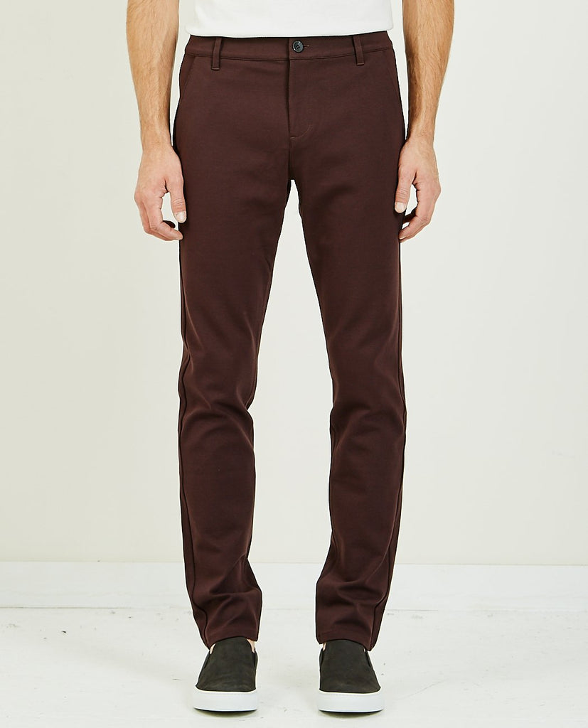 STAFFORD TROUSER CHOCOLATE PLUM-PAIGE-American Rag Cie
