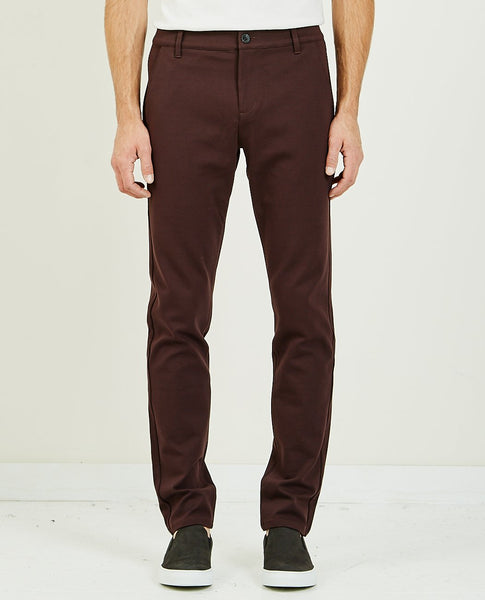 PAIGE STAFFORD TROUSER CHOCOLATE PLUM