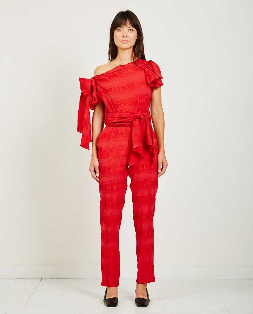 RACHEL COMEY-STANCE PUCKER JUMPSUIT-All-In-One-{option1]