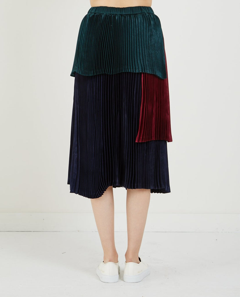 STAND PLEATED SKIRT-NEUL-American Rag Cie