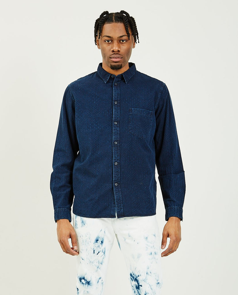 LEVI'S: MADE & CRAFTED-Standard Shirt Morongo Blues-Men Shirts-{option1]