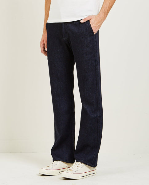 NAKED & FAMOUS Straight Chino Loose Weave Denim
