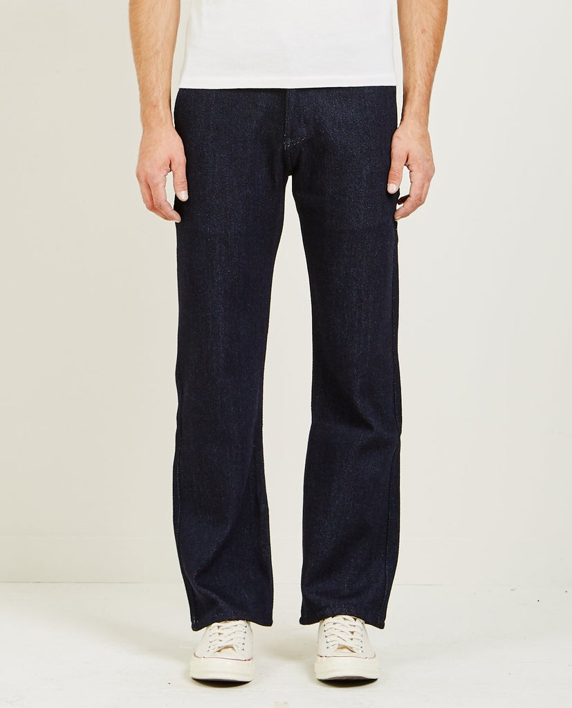 STRAIGHT CHINO LOOSE WEAVE DENIM-NAKED & FAMOUS-American Rag Cie