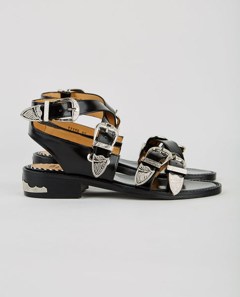 TOGA PULLA STRAPPY BUCKLE ANKLE SANDAL