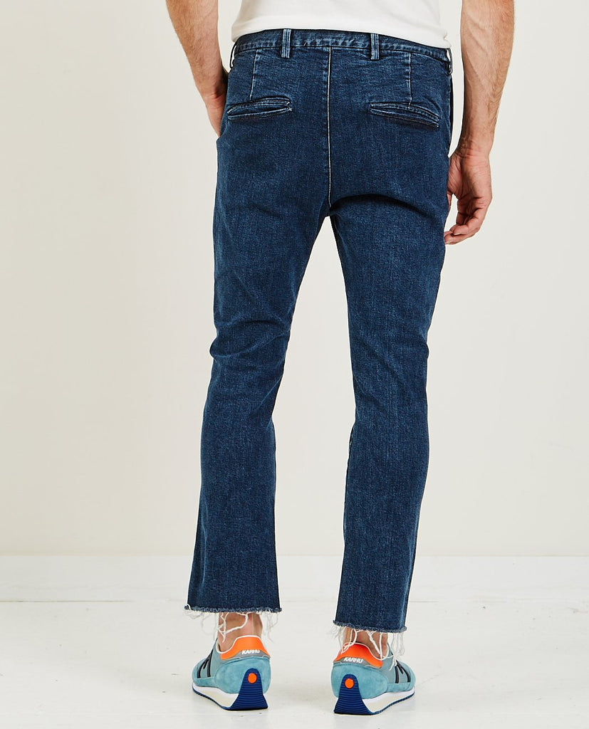 Stretched Denim Bootcut Dark Blue-REMI RELIEF-American Rag Cie
