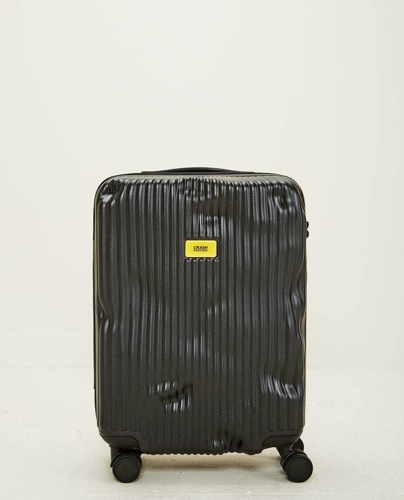CRASH BAGGAGE-STRIPE CABIN BLACK-Men Bags-{option1]