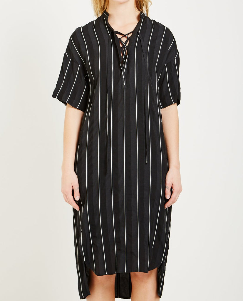 STRIPE DRESS-DEMOO PARKCHOONMOO-American Rag Cie