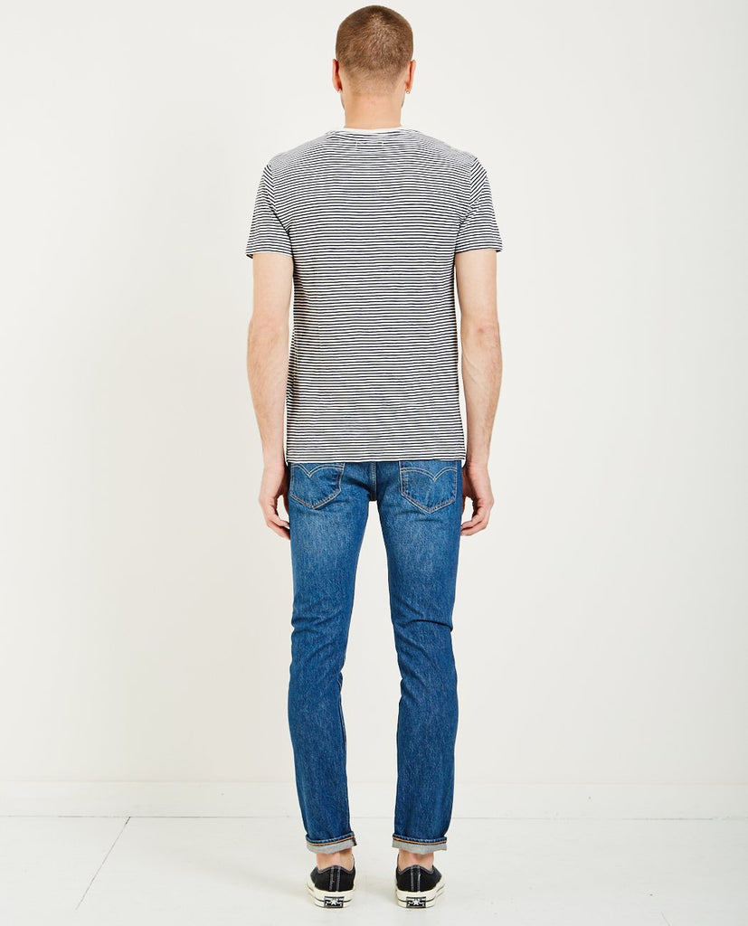 STRIPED POCKET TEE-LEVI'S: MADE & CRAFTED-American Rag Cie