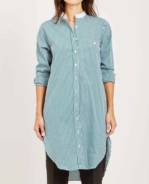 CLOSED STRIPED SHIRT DRESS