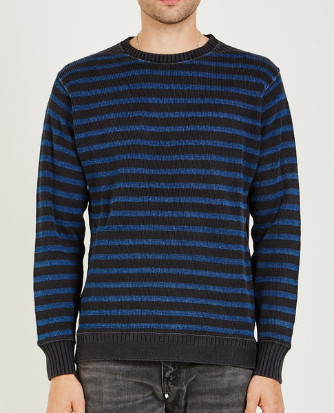 RRL STRIPED SWEATER