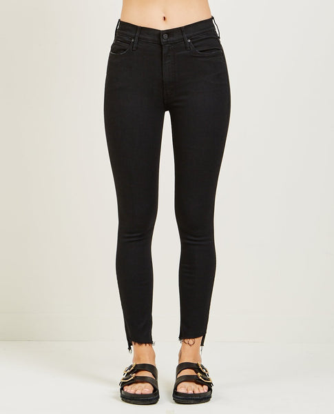 MOTHER Stunner Zip Ankle Step Jean