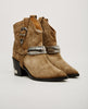 TOGA PULLA-SUEDE COWBOY BOOT-Women Boots-{option1]