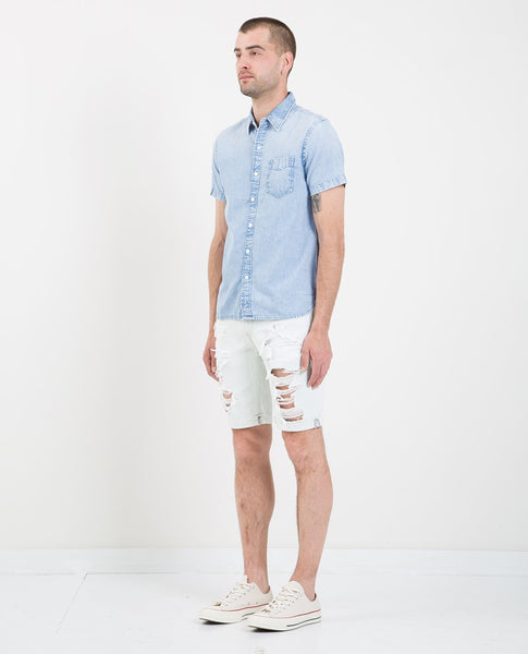 LEVI'S SUNSET POCKET SHIRT BRIGHT BLUE