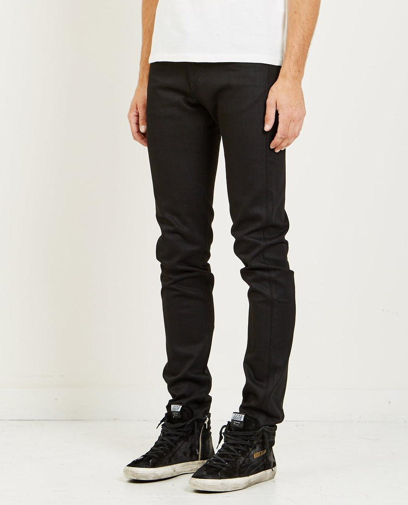 NAKED & FAMOUS-SUPER GUY SOLID BLACK SELVEDGE JEAN-Men Skinny-{option1]