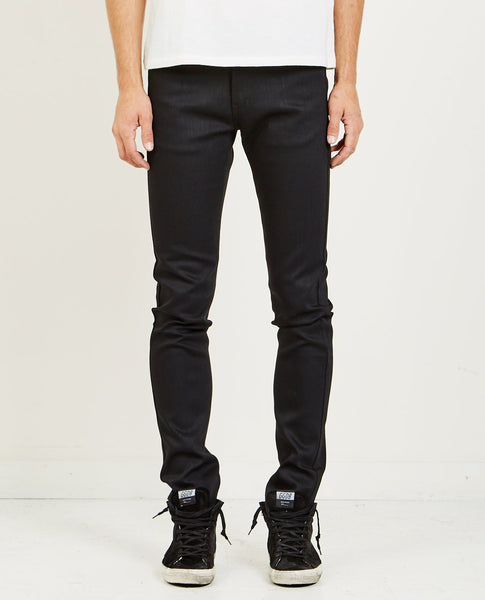 NAKED & FAMOUS SUPER SKINNY GUY BLACK POWER STRETCH JEAN