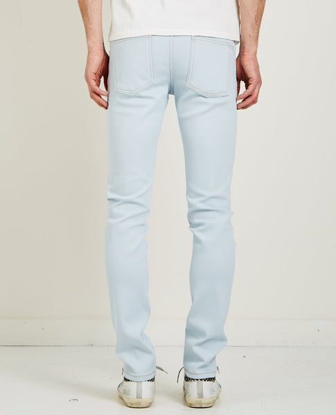 NAKED & FAMOUS SUPER SKINNY GUY JEAN FADED BLUE