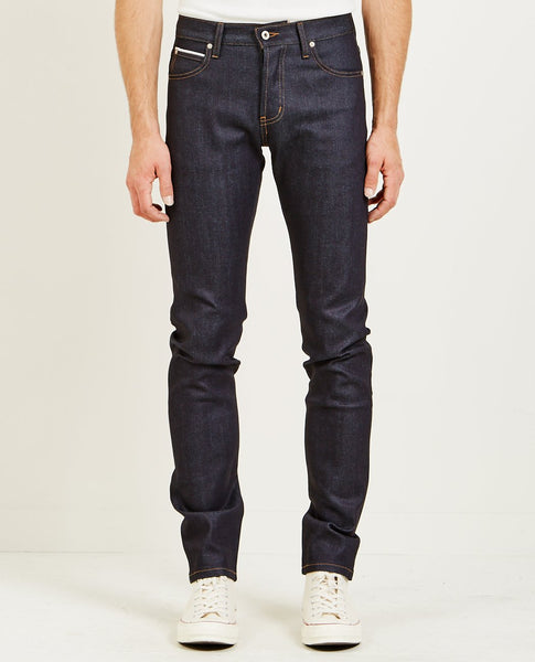 NAKED & FAMOUS SUPER SKINNY GUY NIGHTSHADE STRETCH SELVEDGE