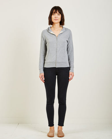 T BY ALEXANDER WANG DENSE FLEECE CREWNECK SWEATSHIRT