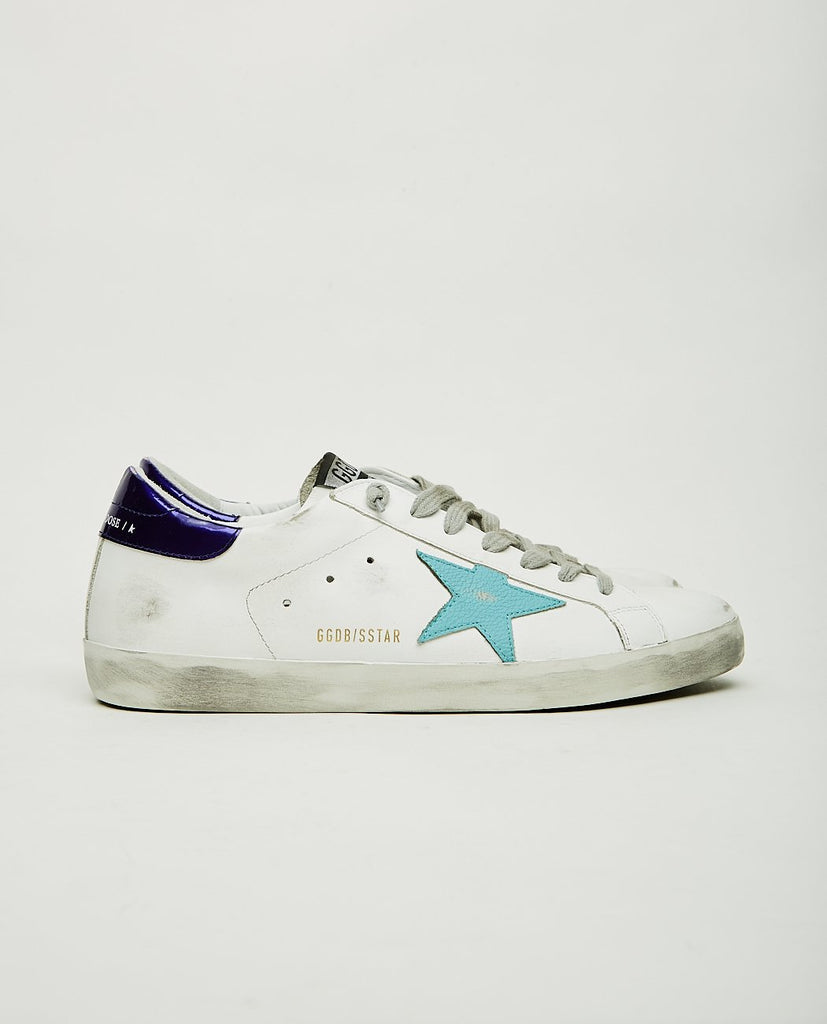 Superstar Sea Blue-GOLDEN GOOSE-American Rag Cie