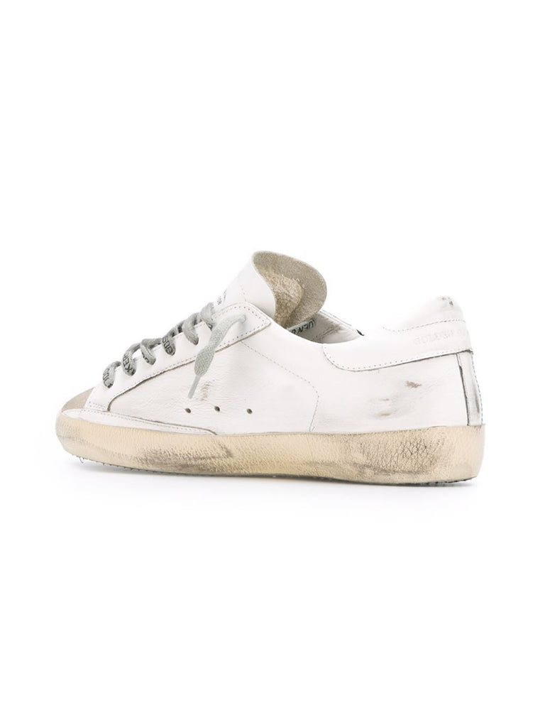 GOLDEN GOOSE DELUXE BRAND-SUPERSTAR SNEAKER WHITE FLAG-Men Sneakers + Trainers-{option1]