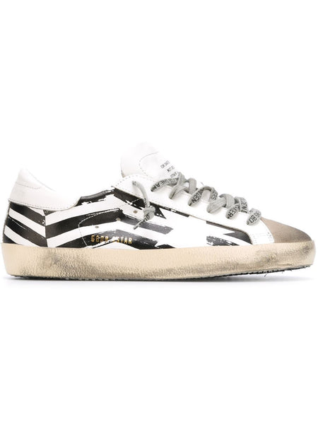 GOLDEN GOOSE DELUXE BRAND SUPERSTAR SNEAKER WHITE FLAG