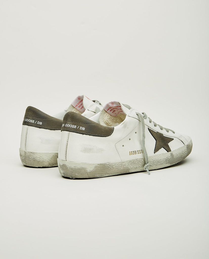 SUPERSTAR WHITE & GREY-GOLDEN GOOSE-American Rag Cie