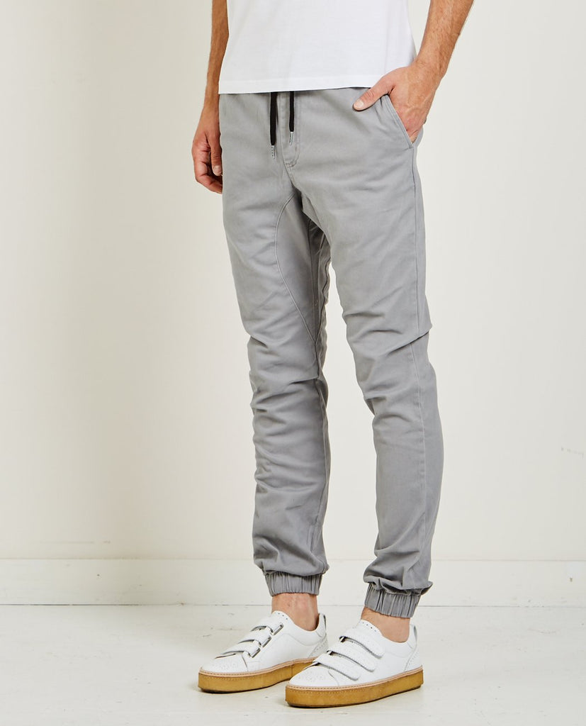 ZANEROBE-SURESHOT JOGGER CEMENT-Men Pants-{option1]