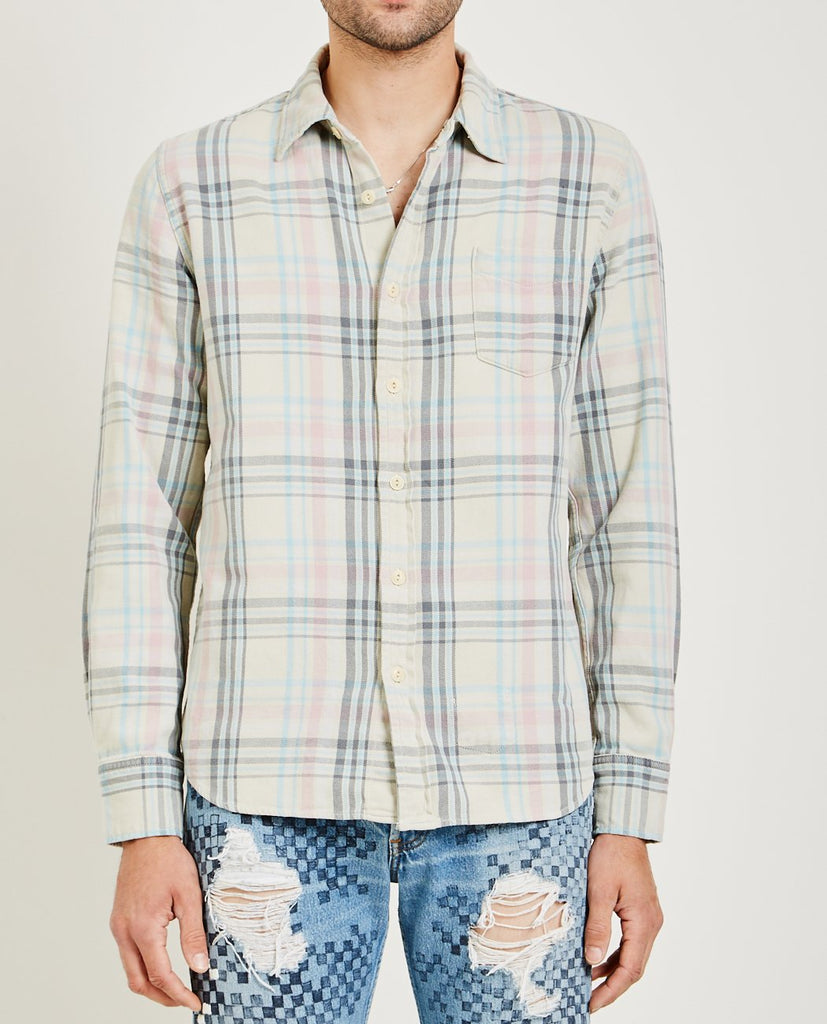 REMI RELIEF-SURFCHECKED SHIRT-Men Coats + Jackets-{option1]