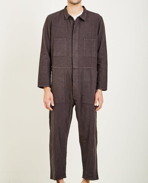 PROSPECTIVE FLOW T-823 COVERALL FADED BLACK