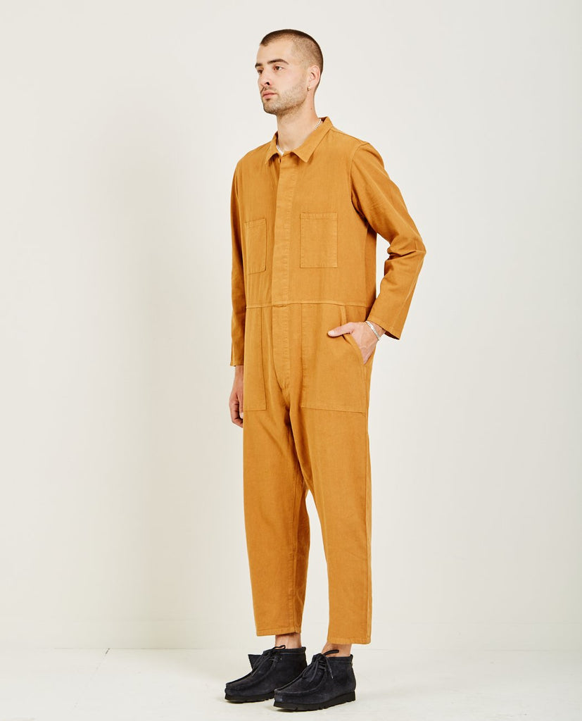 PROSPECTIVE FLOW-T-823 COVERALL MUSTARD-Men Pants-{option1]