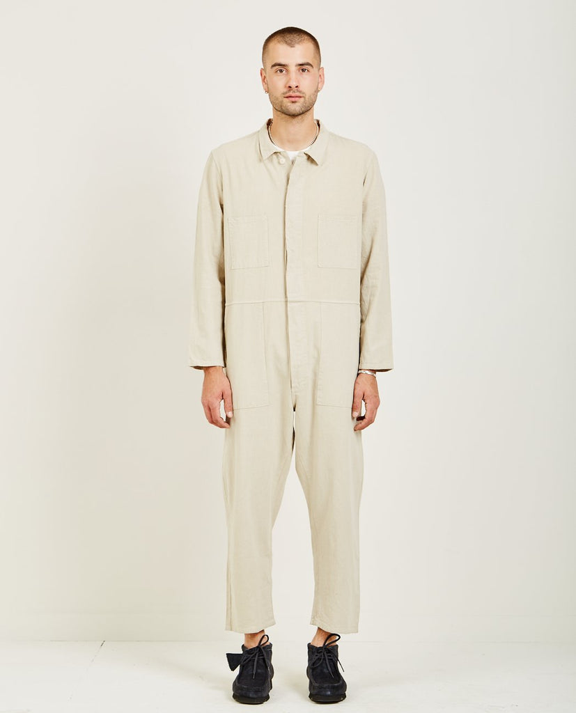 T-823 COVERALL NATURAL-PROSPECTIVE FLOW-American Rag Cie