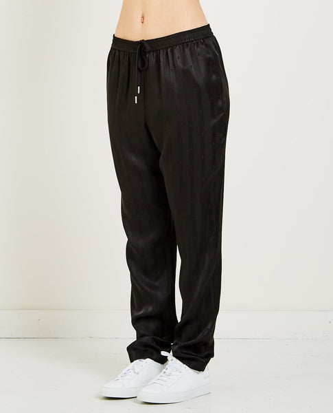 T BY ALEXANDER WANG T STRIPE JACQUARD TRACK PANT