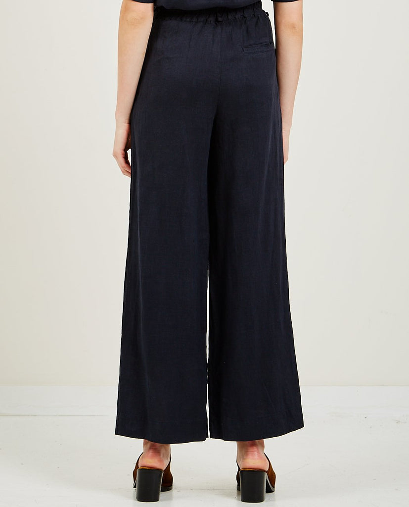 Tailored Linen Wide Leg Pant-STATESIDE-American Rag Cie