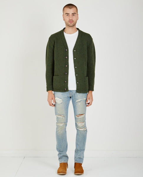 LEVI'S VINTAGE CLOTHING TALL GRASS CARDIGAN