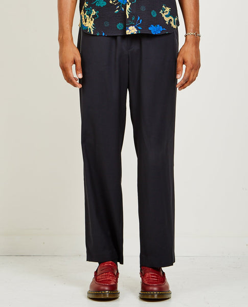 A KIND OF GUISE TALUNG WIDE WOOL TROUSERS