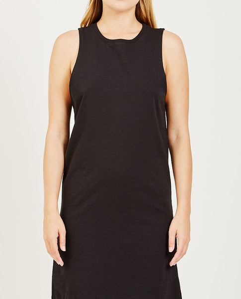 RICHER POORER TANK DRESS BLACK