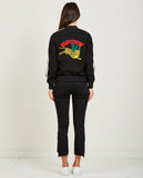 KENZO-TEDDY BOMBER CREPE BACK SATIN-Women Coats + Jackets-{option1]