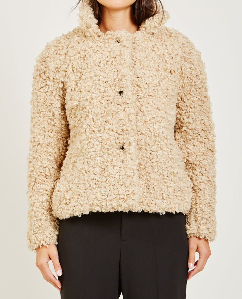 TEDDY COAT-CLOSED-American Rag Cie